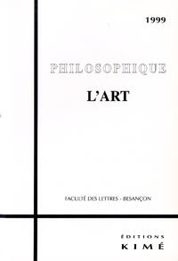 PHILOSOPHIQUE 1999 L'ART