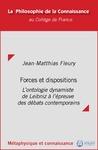 Livre numérique Forces et dispositions