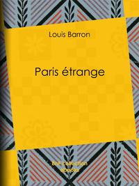 Paris ?trange