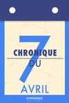 Livre numérique Chronique du 7  avril