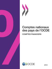 Comptes nationaux des pays de l'OCDE, Comptes financiers 2012