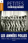 Livre numérique Petites Chroniques #6 : Les années folles — 1920 à 1924, Le renouveau culturel - Partie 1