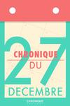 Livre numérique Chronique du 27 décembre