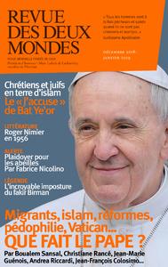 Revue des Deux Mondes décembre 2018 janvier 2019