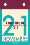 Livre numérique Chronique du 21 novembre