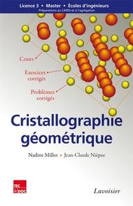 Livre numérique Cristallographie géométrique