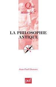 La philosophie antique, « Que sais-je ? » n° 250
