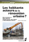 Livre numérique Les habitants: acteurs de la rénovation urbaine?