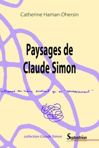 Livre numérique Paysages de Claude Simon