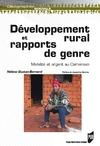 Livre numérique Développement rural et rapports de genre
