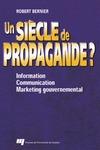 Livre numérique Un siècle de propagande ?