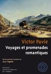 Livre numérique Victor Pavie. Voyages et promenades romantiques