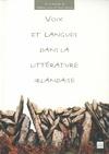 Livre numérique Voix et langues dans la littérature irlandaise