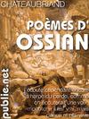 Livre numérique Poèmes d'Ossian