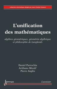 Livre numérique L'unification des mathématiques
