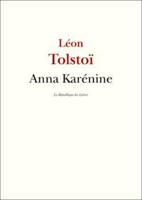 Livre numérique Anna Karénine