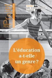Revue Projet : L'éducation a-t-elle un genre ?, février 2019