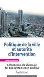 Livre numérique Politique de la ville et autorité d'intervention