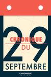 Livre numérique Chronique du 29 septembre