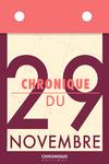 Livre numérique Chronique du 29 novembre