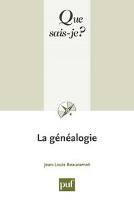 La généalogie, « Que sais-je ? » n° 917