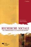 Livre numérique Recherche sociale, 5e édition