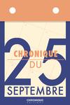 Livre numérique Chronique du 25 septembre