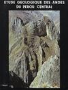Livre numérique Étude géologique des Andes du Pérou central