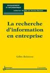 Livre numérique La recherche d'information en entreprise