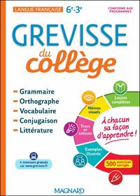 GREVISSE DU COLLÈGE