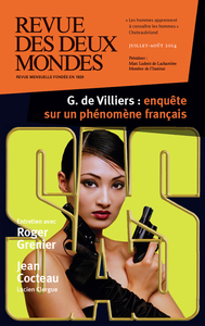 Revue des Deux Mondes juillet-août 2014