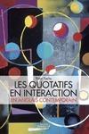Livre numérique Les quotatifs en interaction en anglais contemporain