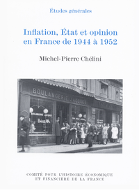 Livre numérique Inflation, État et opinion en France de 1944 à 1952