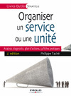 Livre numérique Organiser un service ou une unité