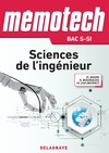 Livre numérique Mémotech Sciences de l'ingénieur 1re, Tle Bac S - CPGE (2017) - LN - EPUB