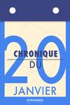 Livre numérique Chronique du 20  janvier