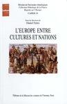 Livre numérique L'Europe entre cultures et nations