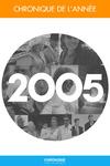 Livre numérique Chronique de l'année 2005