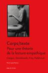 Livre numérique Corps/texte. Pour une théorie de la lecture empathique