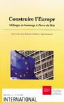 Livre numérique Construire l'Europe
