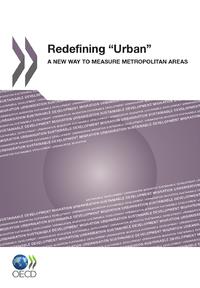 """Redefining """"Urban"""""""