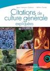 Livre numérique Citations de culture générale expliquées