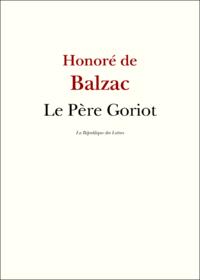 Le P?re Goriot