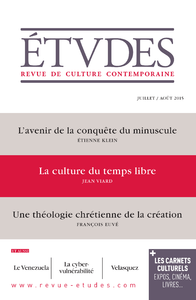 Etudes Juillet-Août 2015