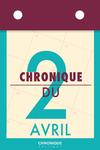 Livre numérique Chronique du 2  avril