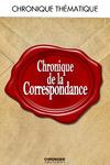 Livre numérique Chronique de la correspondance