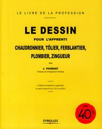 Livre numérique Le dessin pour l'apprenti chaudronnier, tôlier, ferblantier, plombier, zingueur