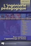 Livre numérique L'ingénierie pédagogique