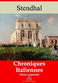 Chroniques italiennes – suivi d'annexes