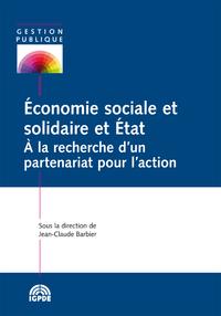 Livre numérique Économie sociale et solidaire et État